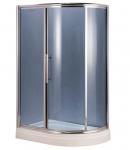 Душевая кабина AquaStream Premium 120 LB L (левосторонняя ) стекло серое
