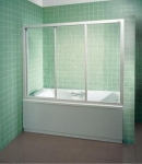 Шторка для ванной Ravak AVDP3-160 (Rain)
