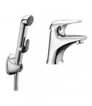Набор для биде (смеситель 05210 + гигиенич душ с держателем  + шланг 1,5м) IMPRESE SOLNICE I05210BT