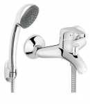 Смеситель для ванны и душа с лейкой Ferro Basic BBC11