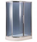 Душевая кабина AquaStream Premium 120 LB R (правосторонняя ) стекло серое