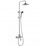 Душевая стойка со смесителем для ванны и душа Welle Claus XN33Y37D-1KB1483B-TH3331