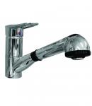 Смеситель c выдвижным душем для кухни Shruder Loop MK5008