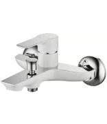 Смеситель для ванной и душа Welle Gerda WEV23461KX-H21166-HN